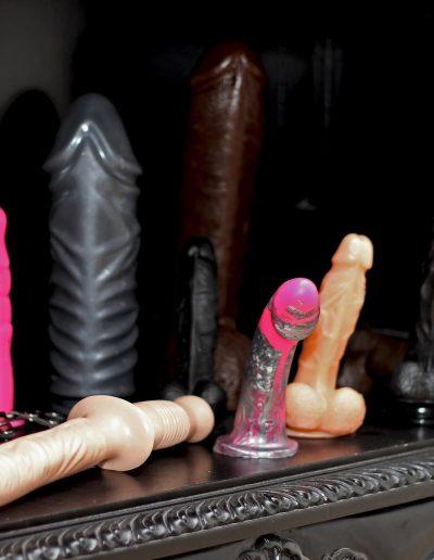 Mistress Wildfire BDSM equipment