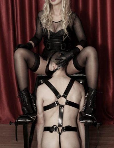 masked rubber mistress London