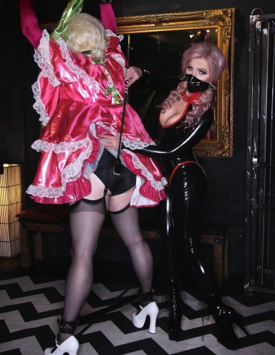 domme with sissy