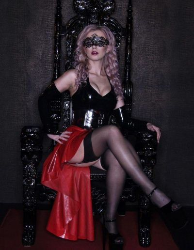 dominatrix on throne